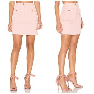 Love Moschino Double Pocket Pink Skirt Sz 6